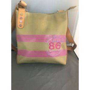 CTTA Caminatta Bags Crossbody Brown & Pink Purse